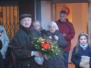 Weihnachtsfeier und Erstbewohnerehrung
